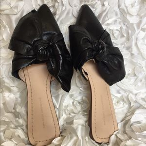 Zara Basic bow flats